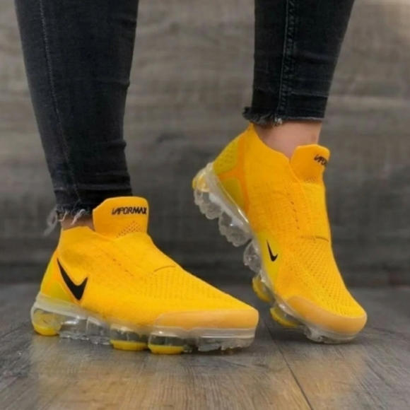 Nike Shoes | Air Max Yellow Black 2020